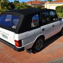 Custom Range Rover Soft Top