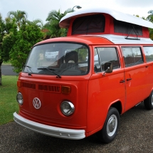 Joanne's Red Kombi