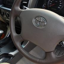 Prado Leather Steering Wheel