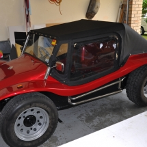 Red Buggy softtop