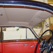\'55 Bentley R-Type Hoodlining