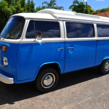 Gary\'s Blue Campervan