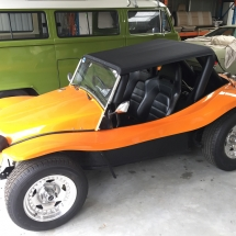 Orange J&S Buggy